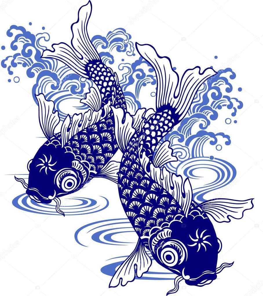 Japanese carp,