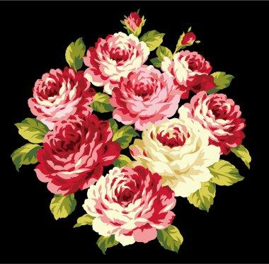 Decoration of rose