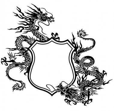 Emblem of dragon