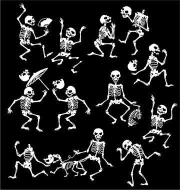 Happy skeleton,
