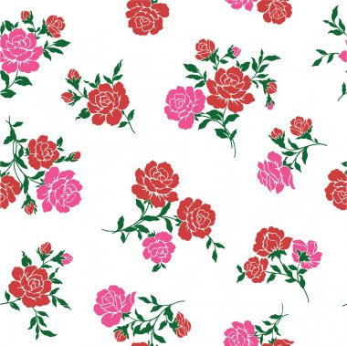 The rose is seamless