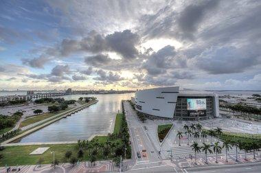 American Airlines Arena in Miami, Florida