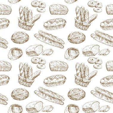Bakery seamless wallpaper