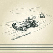 Photo Vintage racing cars