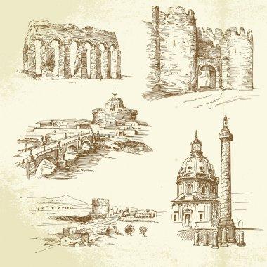 Rome - hand drawn set