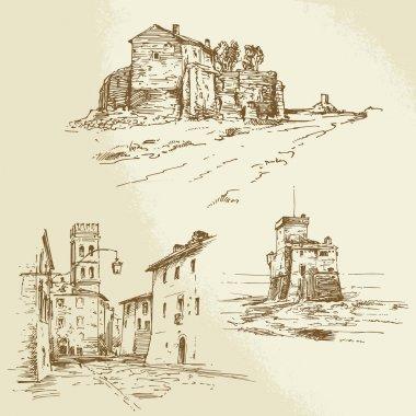 italian rural houses