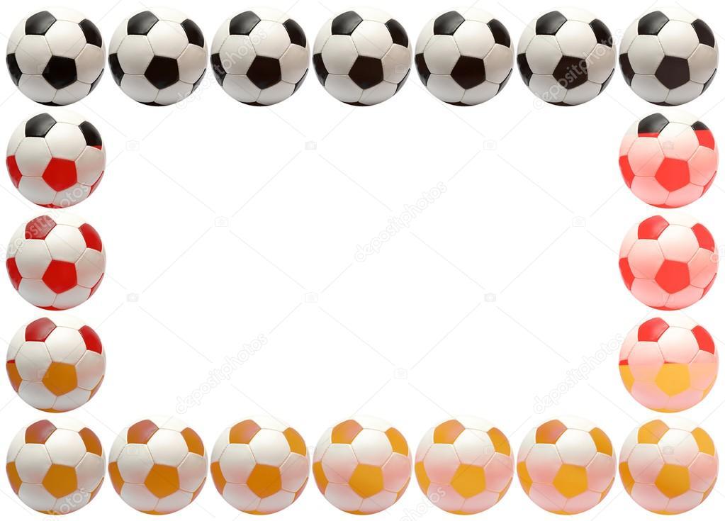 Soccer ball frame — Stock Photo © Knut_Wiarda #16515651