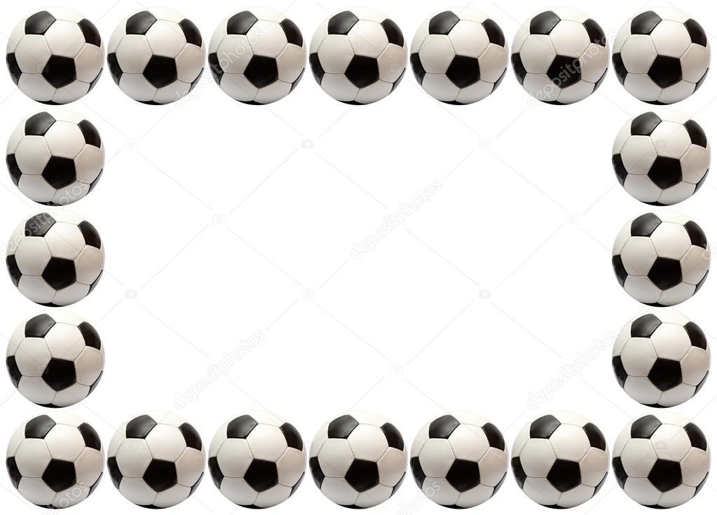 Soccer ball frame — Stock Photo © Knut_Wiarda #16515707
