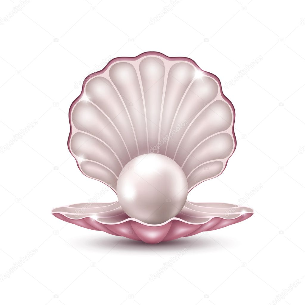 Pearl in the shell
