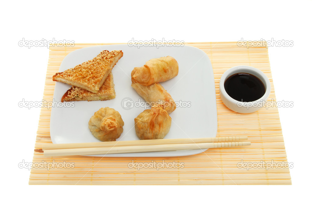 Chinese snacks — Stock Photo © griffin024 #14843347