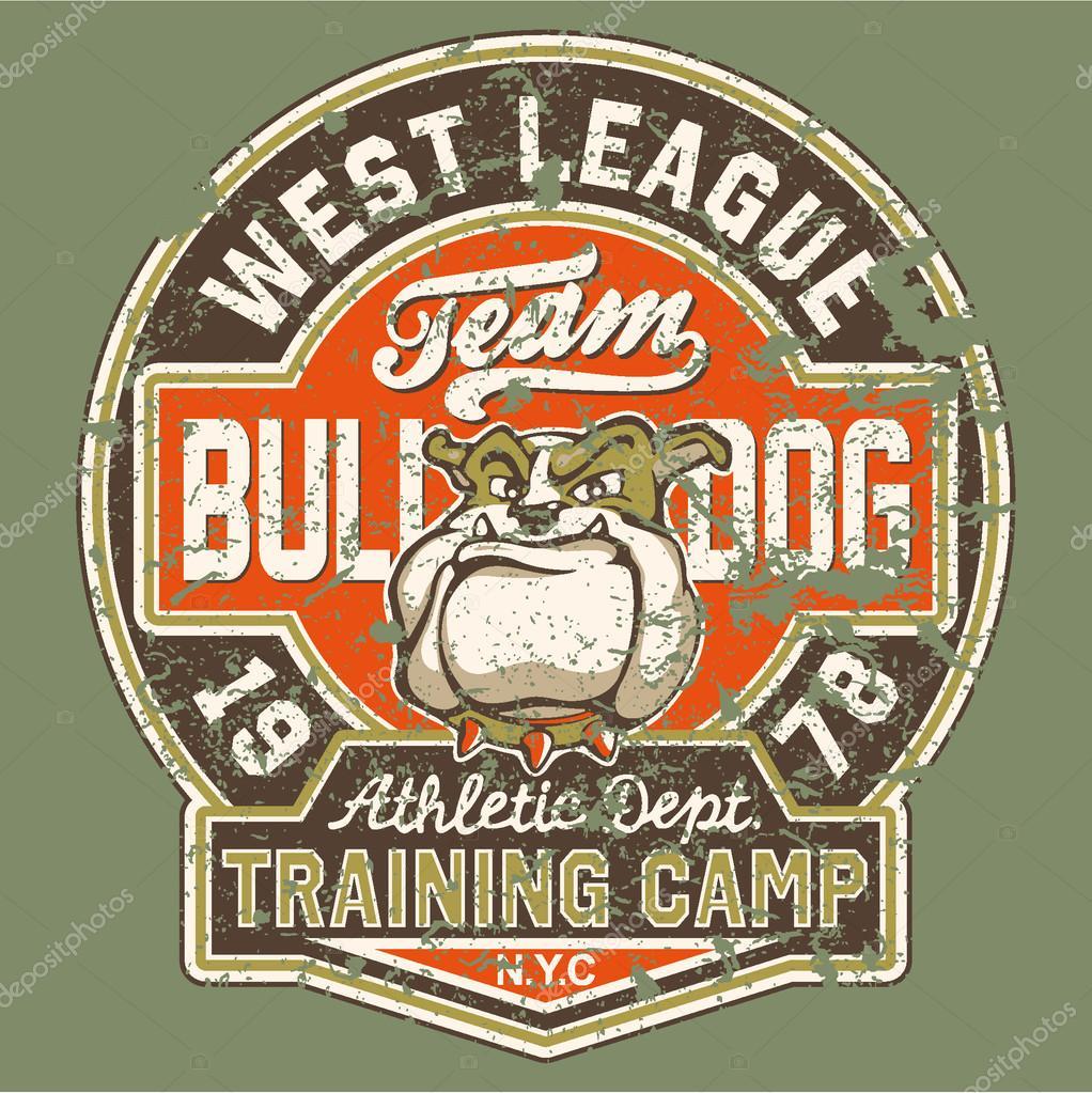Bulldog football team
