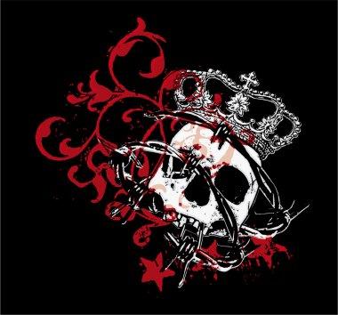Gothic skull