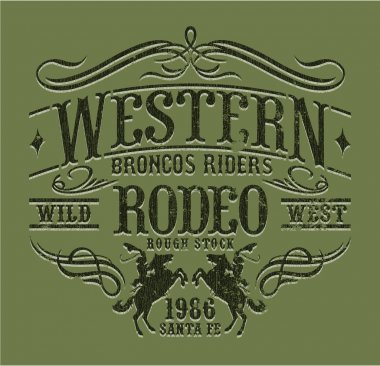 Western riders rodeo