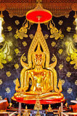 Golden buddha in thai temple,Loei Province,Generality in Thailan