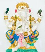 Indian or Hindu God Named Bhakti Ganapati at Wat Saman, Chachoen