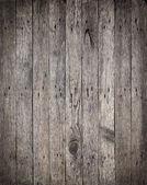 Fotografia vecchie tavole di legno con lo sfondo di chiodi arrugginiti