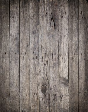 Old Wooden Boards with the Rusty Nails Background