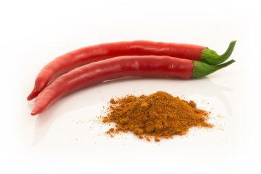 red chilli pepper or cayenne pepper