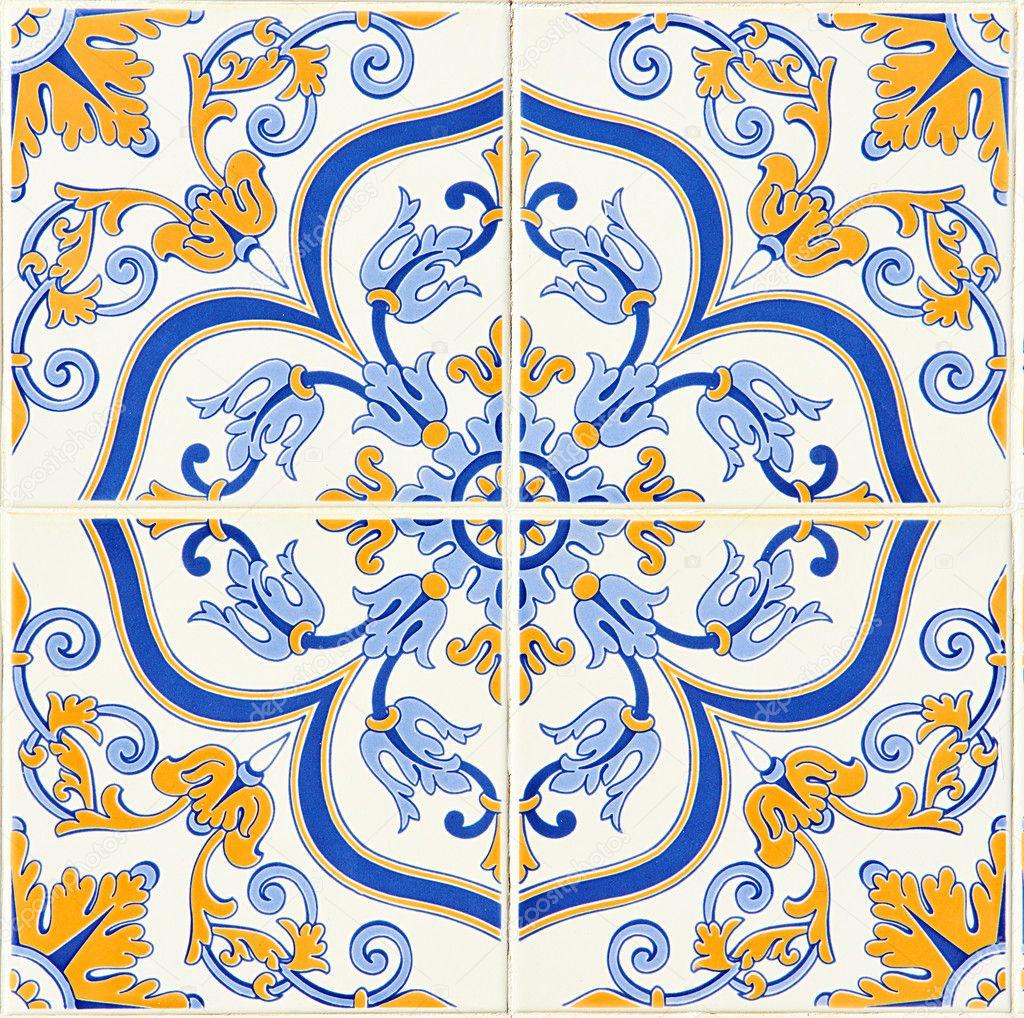 Detalhe de alguns t picos azulejos portugueses fotografias de stock portumen 24830453 - Azulejos portugueses comprar ...