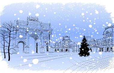 Christmas Paris
