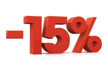 Percentage -15
