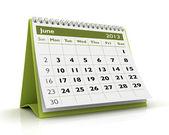 Fotografie June 2013 Calendar