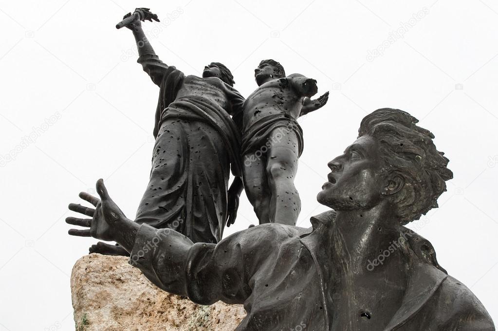 The Martyrs of Lebanon — Stock Photo © dinosmichail #13857065
