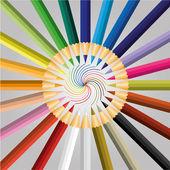 Tužka barevná vektor