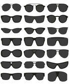 Photo sunglasses vector illustration