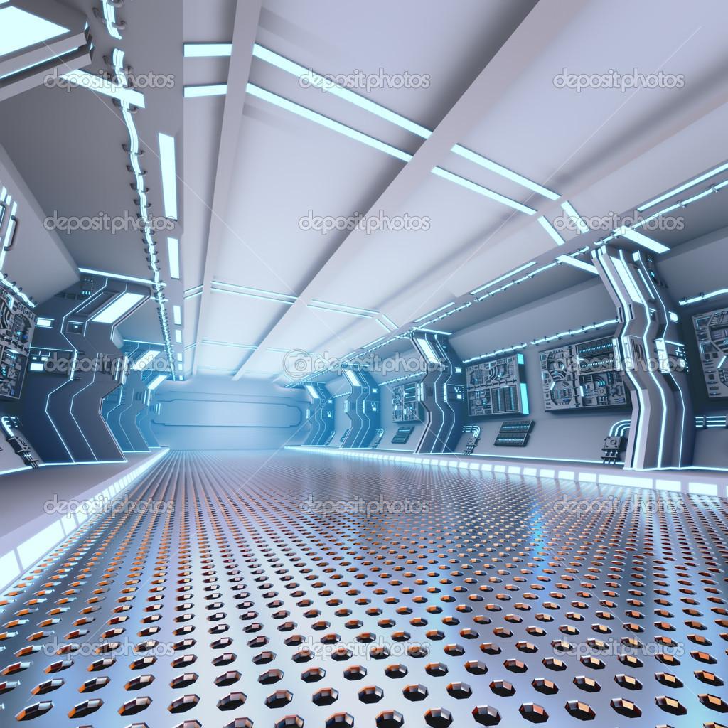 Int rieur du vaisseau spatial design futuriste photo 31457781 - Interieur vaisseau spatial ...