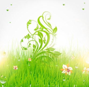 Spring background design