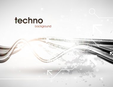 Technology web background