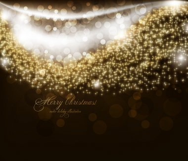 Elegant christmas background with place for new year text invitation stock vector