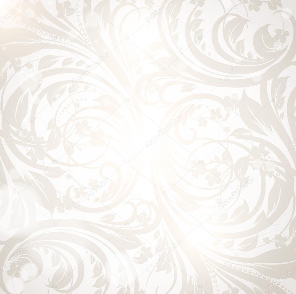 Seamless White Damask Wallpaper Stock Vector C Ozerina 16047839