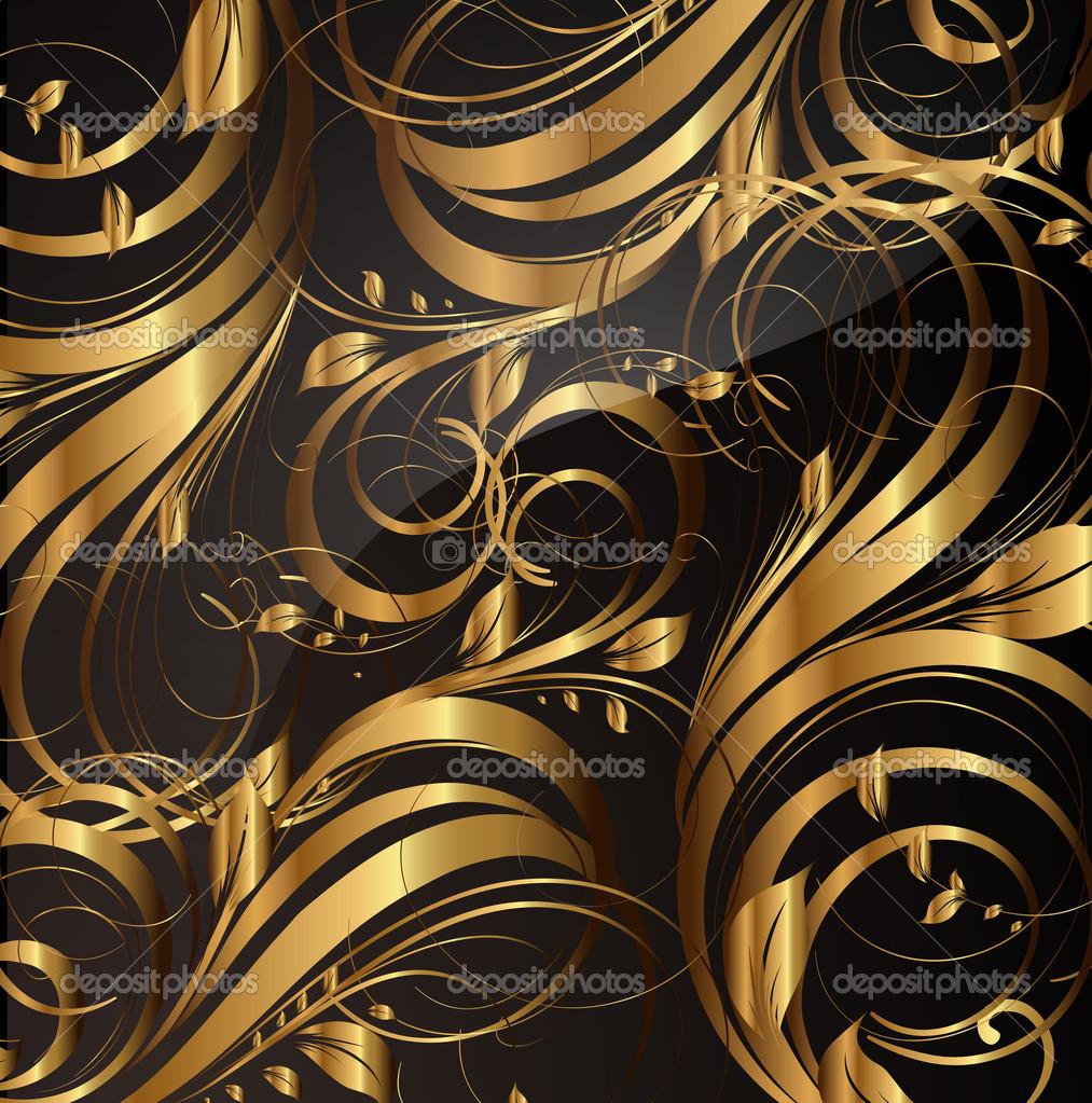 Открытка доброй, открытка коричневая с золотом