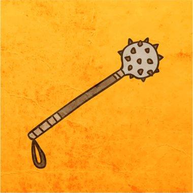 Mace. Cartoon Weapon.