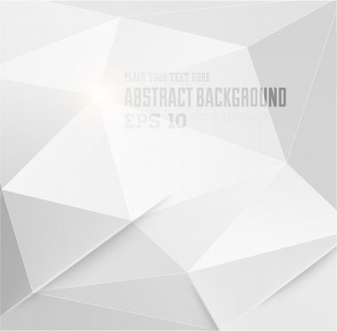 Abstract geometric white background for modern design clip art vector