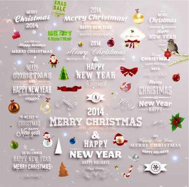 Christmas decoration collection