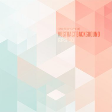 Abstract geometric mosaic background for design