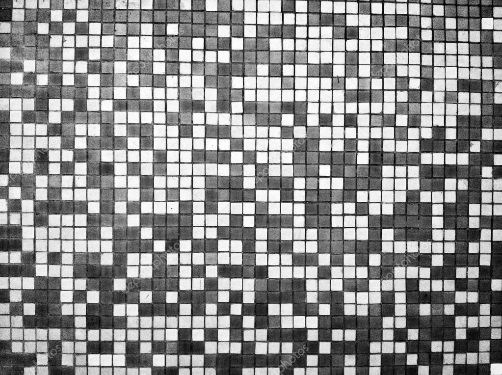 Trama di piastrelle bianche e nere u foto stock malydesigner