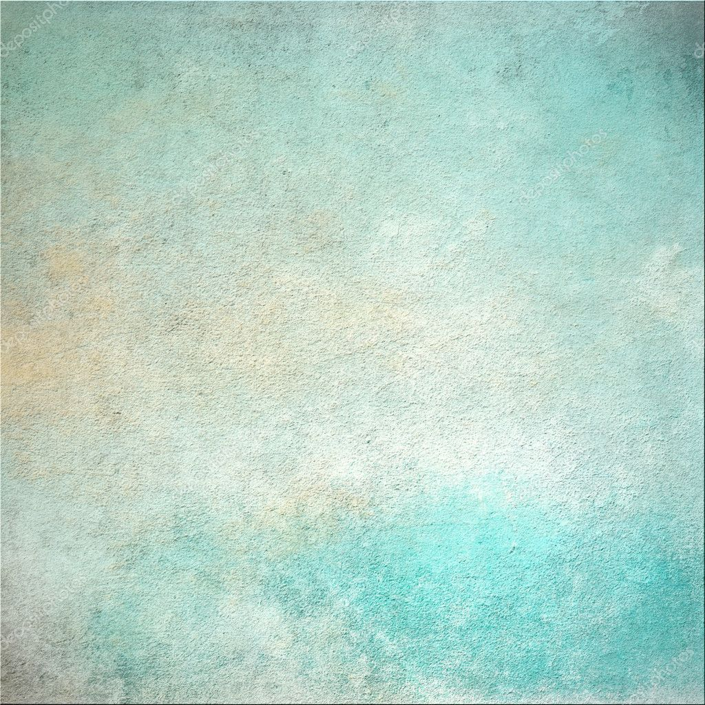 Grunge abstract turquoise background
