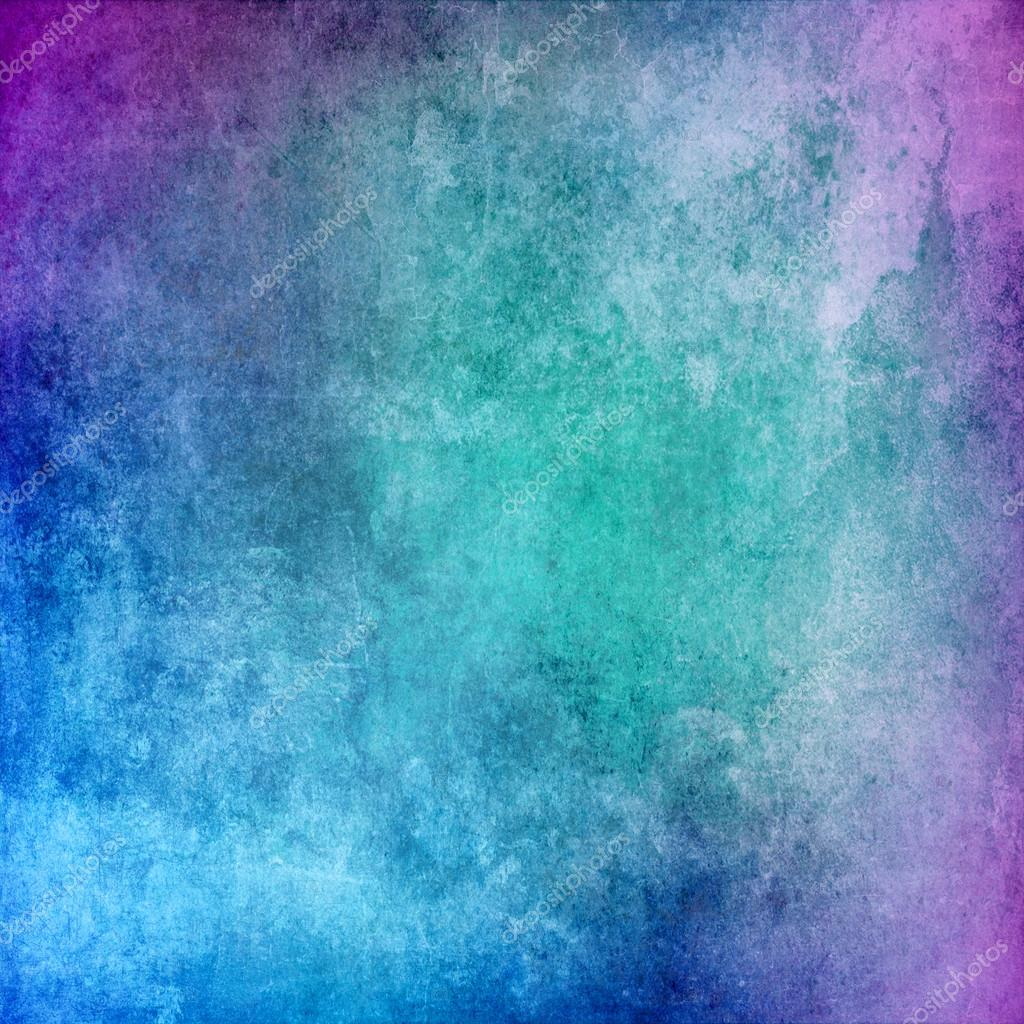Abstract grunge turquoise texture for background