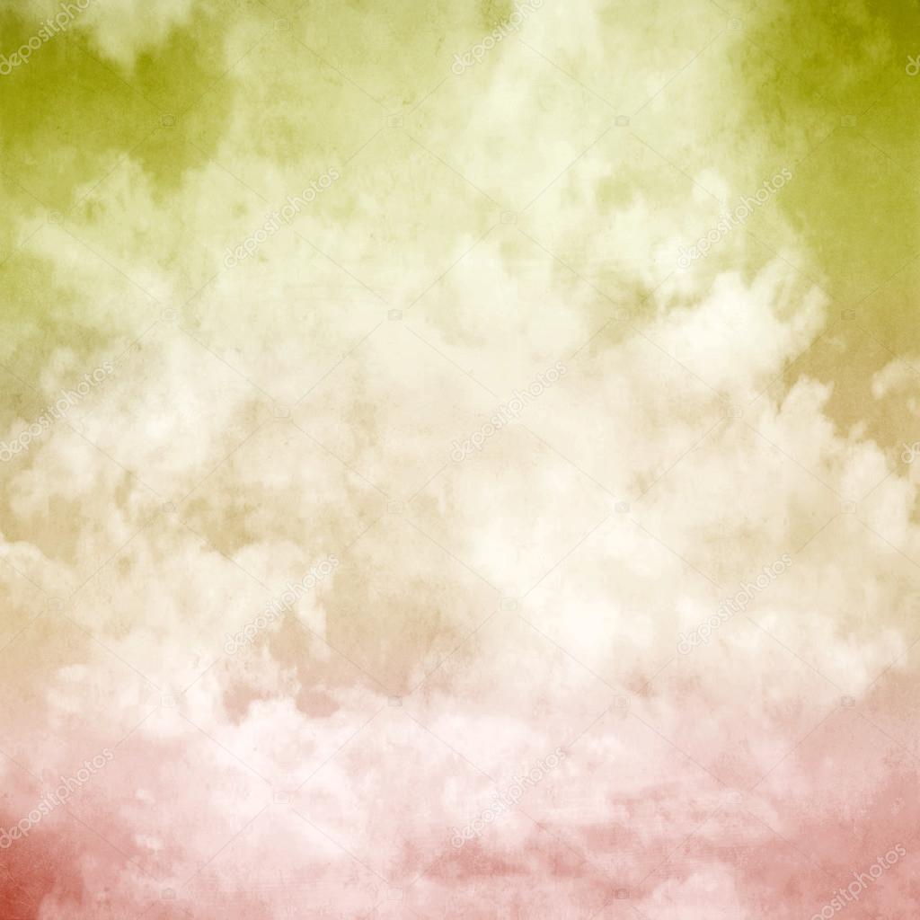 Colorful cloud pastel background