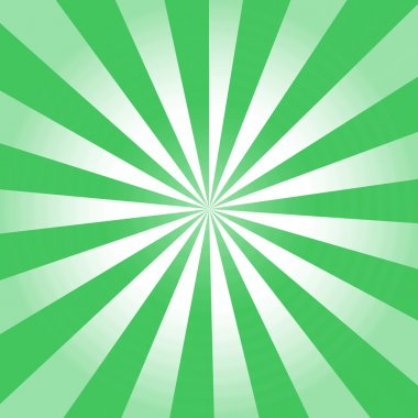 Green rays background
