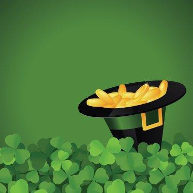 St. Patrick's Day festive frame