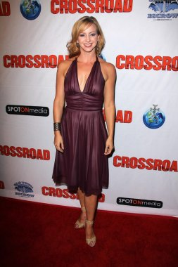 Olivia Dunkley at the Red Carpet Premiere for Crossroad Alex Theater, Glendale, CA 10-14-12