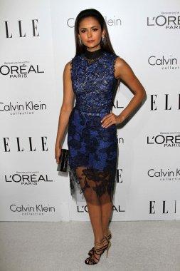 Nina Dobrev at the Elle Magazine 17th Annual Women in Hollywood, Four Seasons, Los Angeles, CA 10-15-12