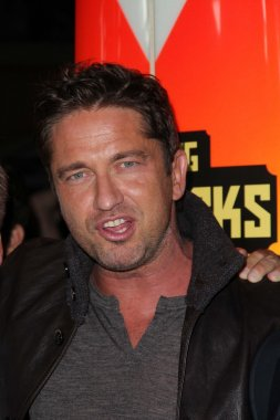 Gerard Butler at the Chasing Mavericks Los Angeles Premiere, Pacific Theaters, Los Angeles, CA 10-18-12