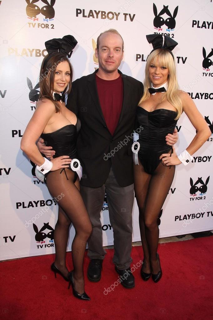 Jamin Fite At The Playboy Tv Stock Photo