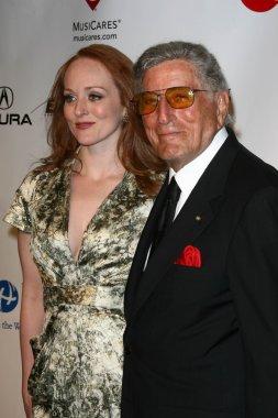 Tony Bennett and Daughter Antonia